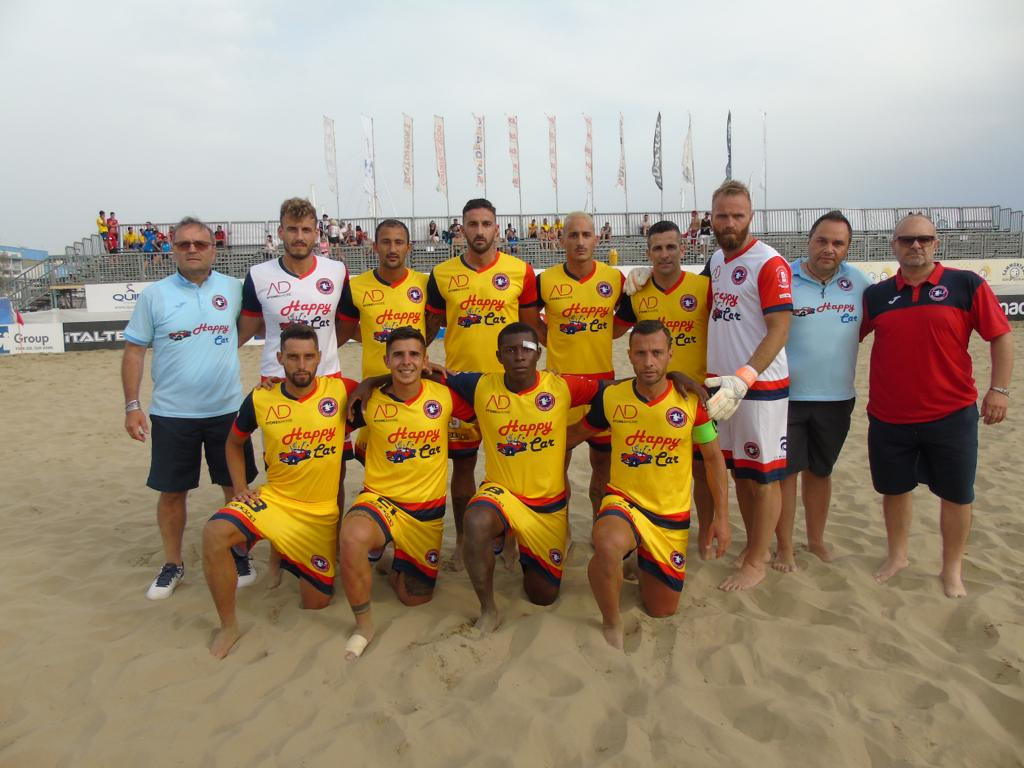 La Samb Beach Soccer segna 10 gol all'esordio: Catanzaro battuto in campionato