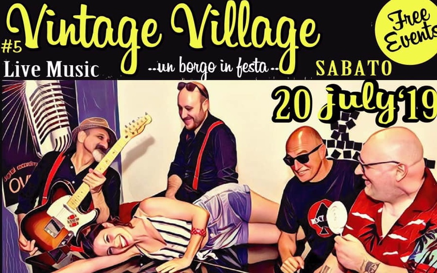 "Due giorni di 'rock and roll' a Monsampolo, torna ""Vintage Village"""