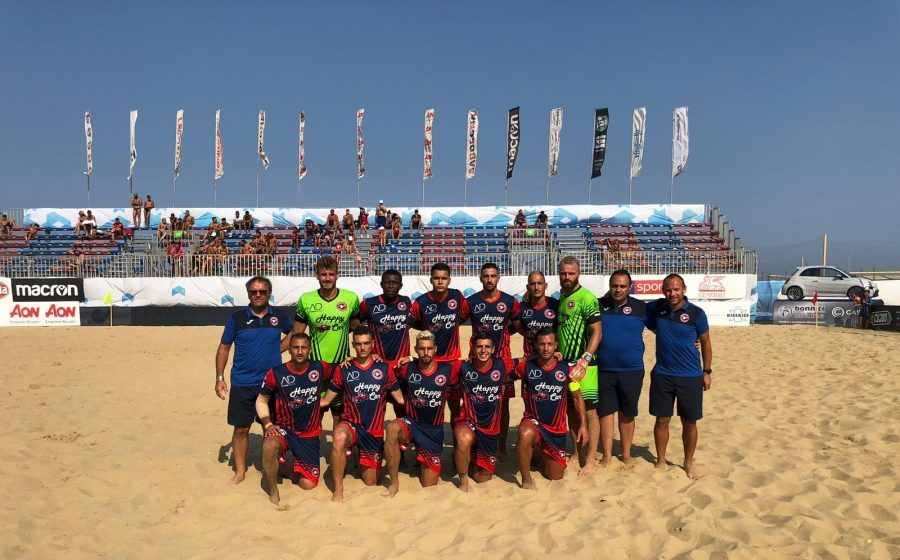Samb Beach Soccer in finale scudetto: Catanzaro battuto 7-4